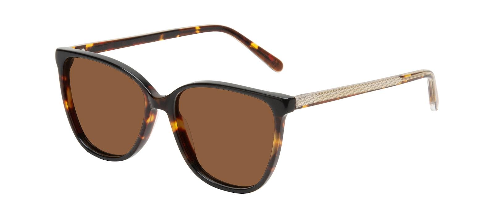 Affordable Fashion Glasses Square Sunglasses Women Flora Tundra Tilt