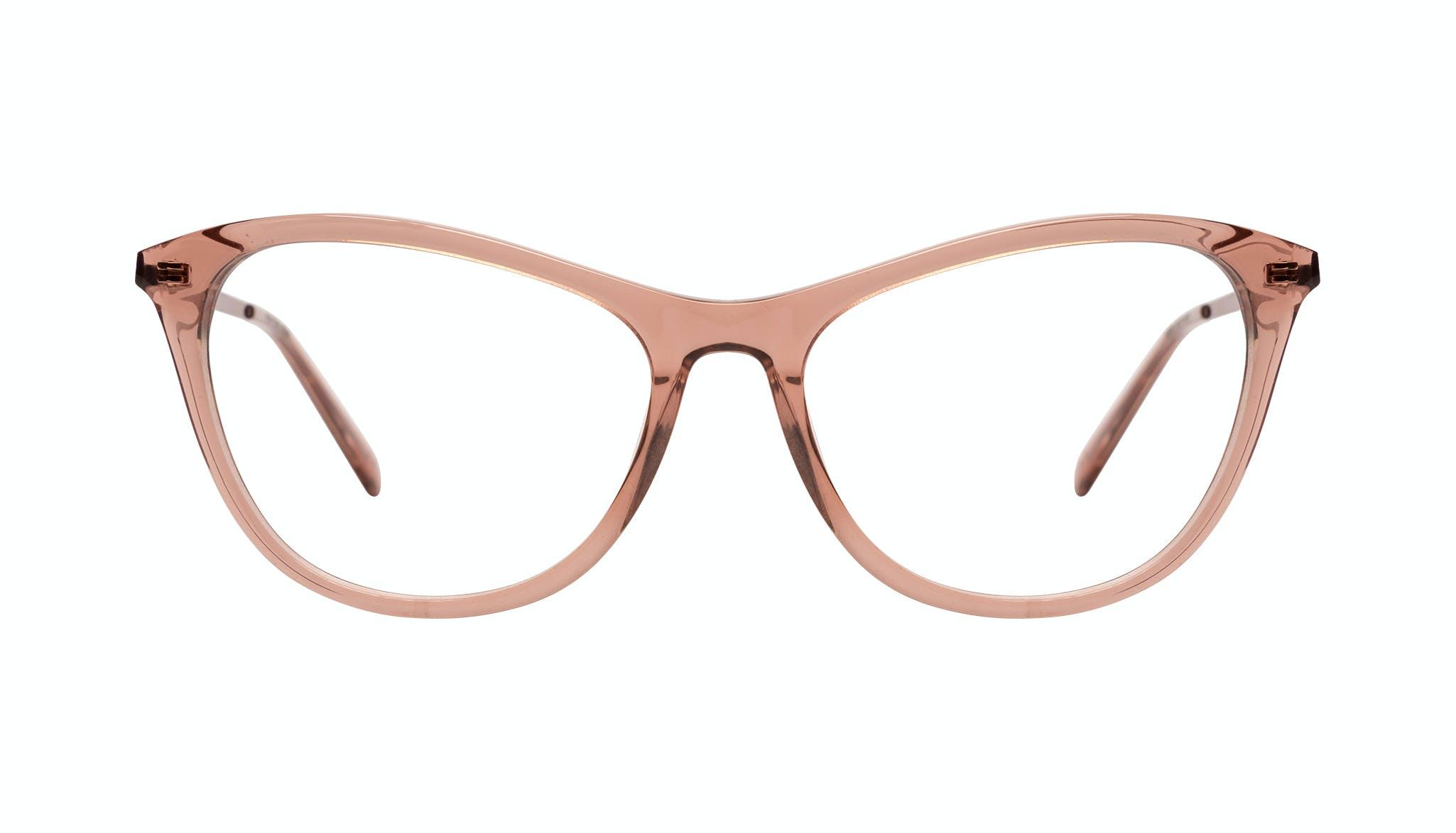 Affordable Fashion Glasses Cat Eye Eyeglasses Women Folk Plus Rose Front
