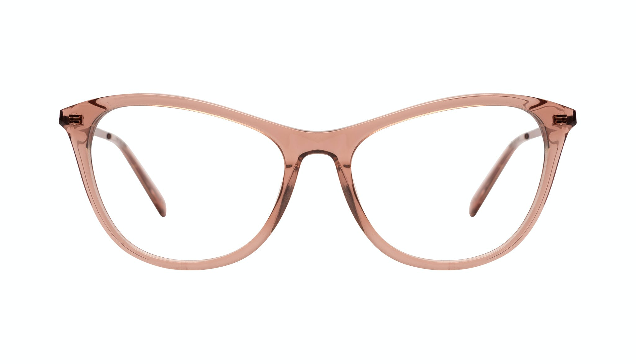 Affordable Fashion Glasses Cat Eye Eyeglasses Women Folk Plus Rose Front