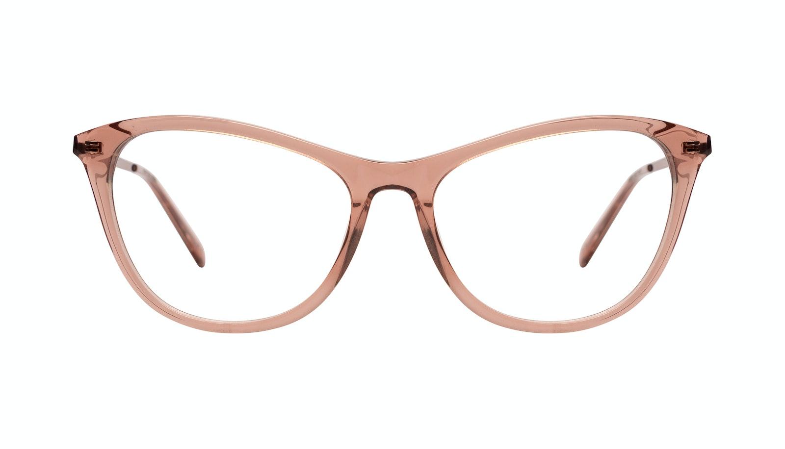 Affordable Fashion Glasses Rectangle Eyeglasses Women Folk Plus Rose
