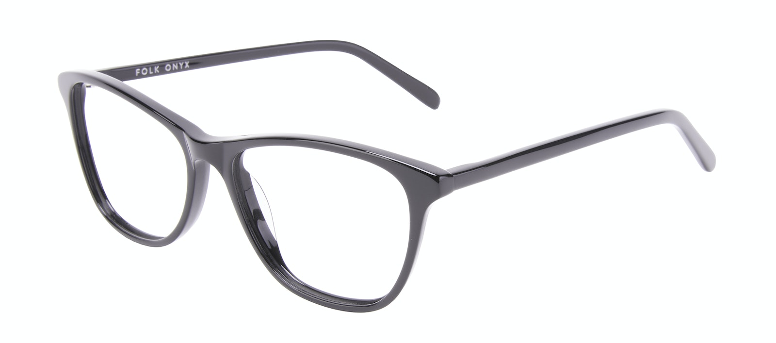 Affordable Fashion Glasses Rectangle Eyeglasses Women Folk Onyx Tilt