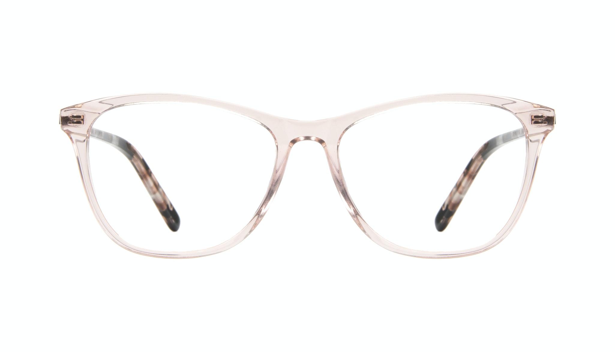 Affordable Fashion Glasses Cat Eye Rectangle Eyeglasses Women Folk Rose Metal