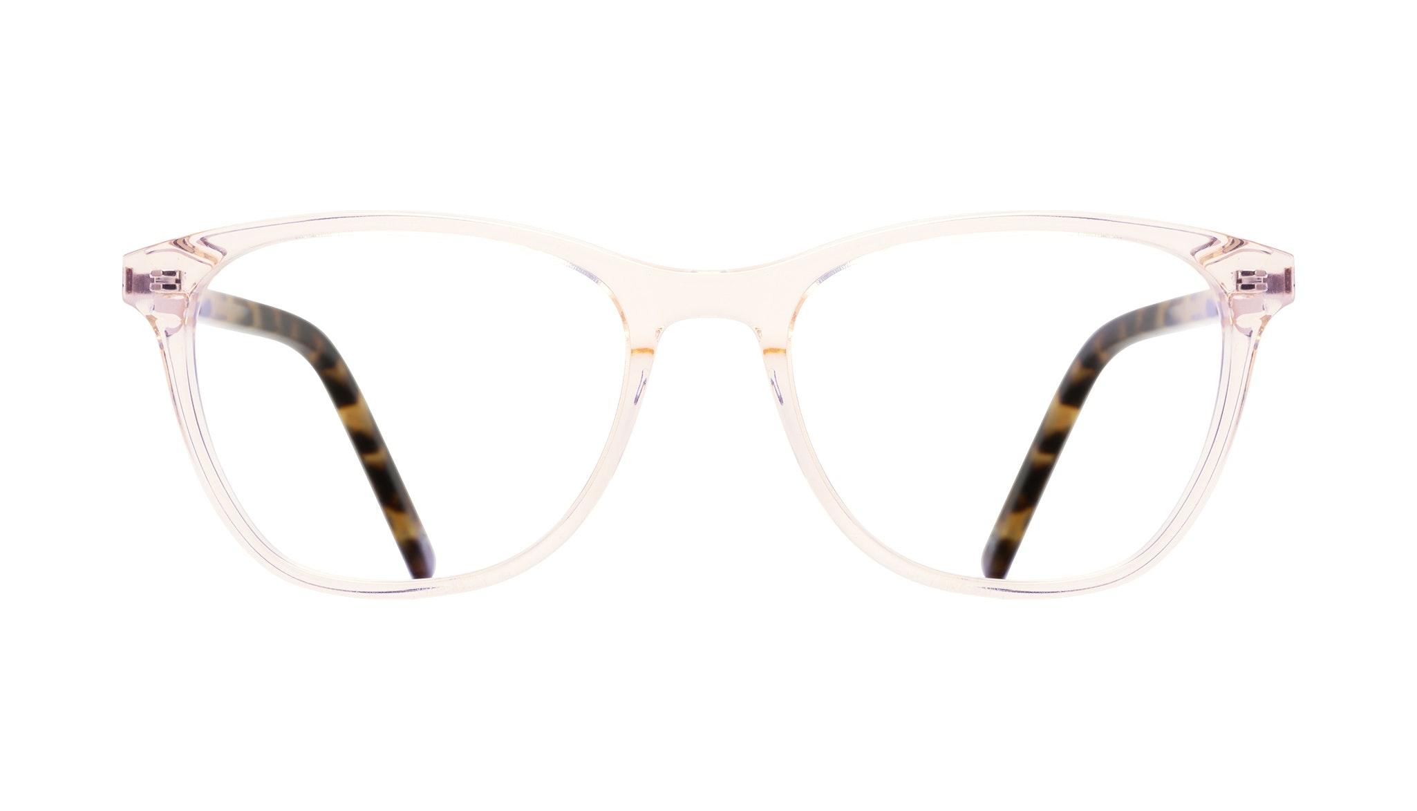 Affordable Fashion Glasses Cat Eye Rectangle Eyeglasses Women Folk Blond Tortoise