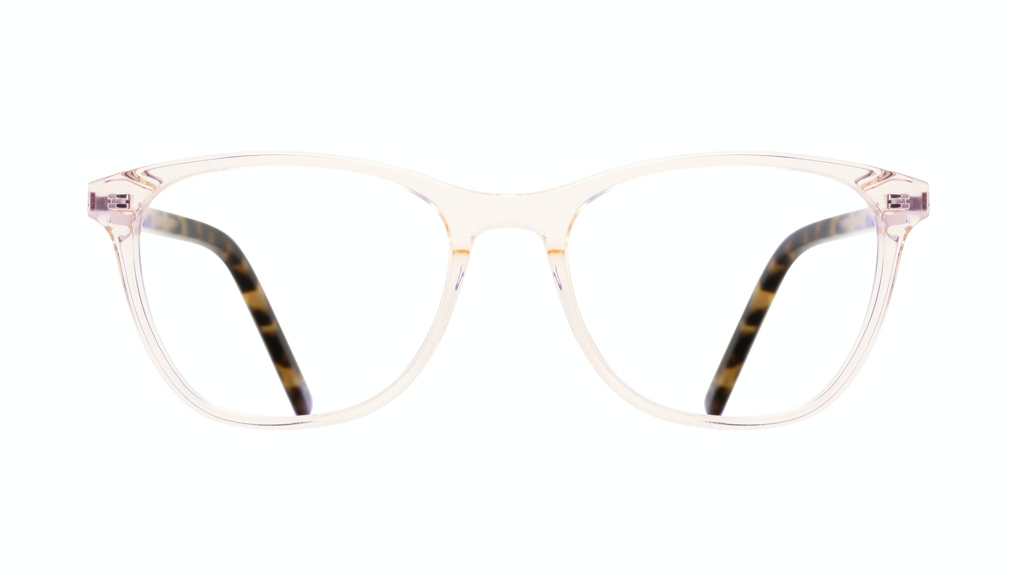 Affordable Fashion Glasses Cat Eye Rectangle Eyeglasses Women Folk Blond Tortoise