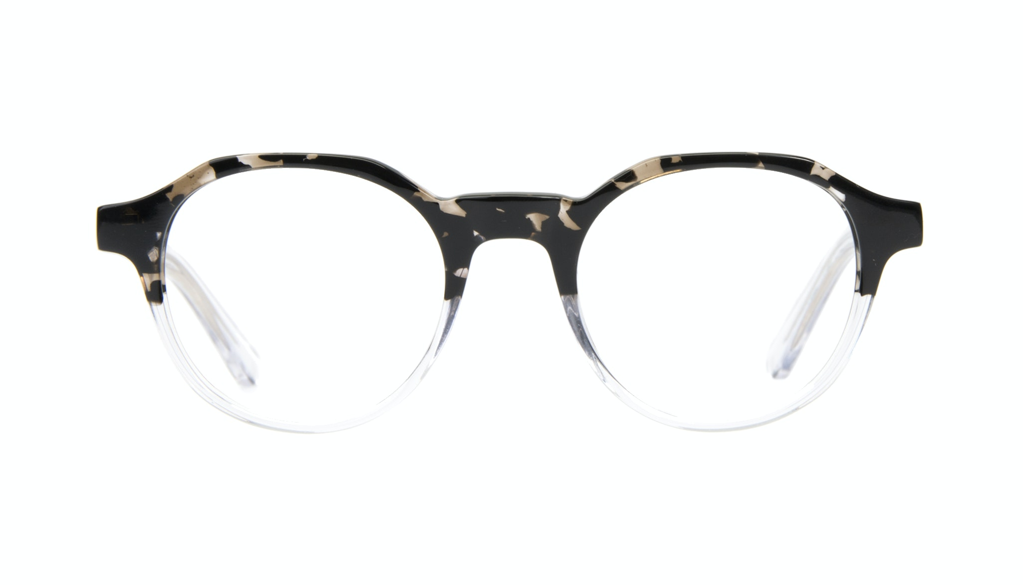 Affordable Fashion Glasses Round Eyeglasses Men Form Stone Clear Front