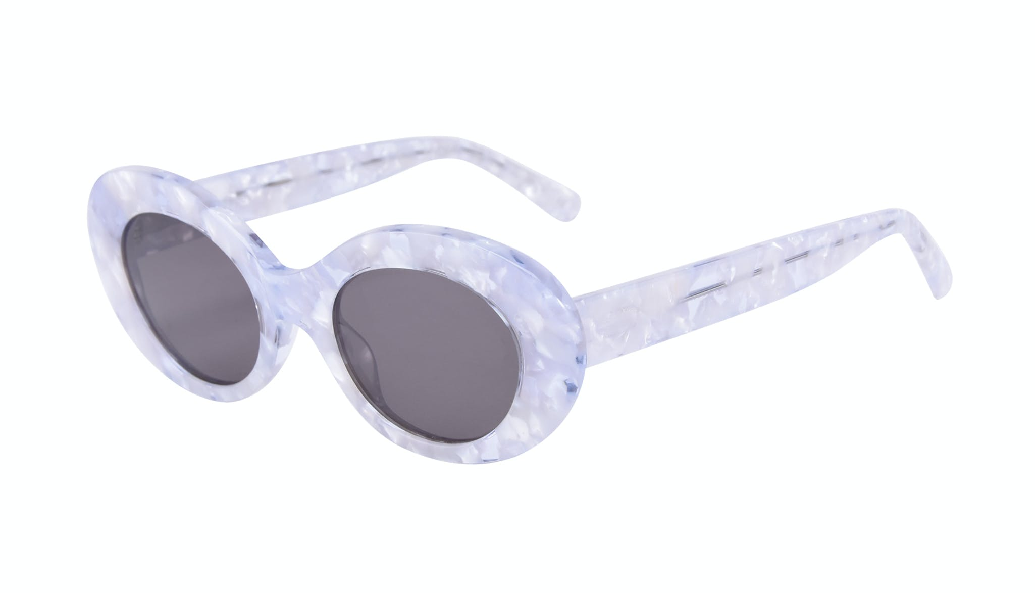 Affordable Fashion Glasses Round Sunglasses Women Galactic Moon Tilt