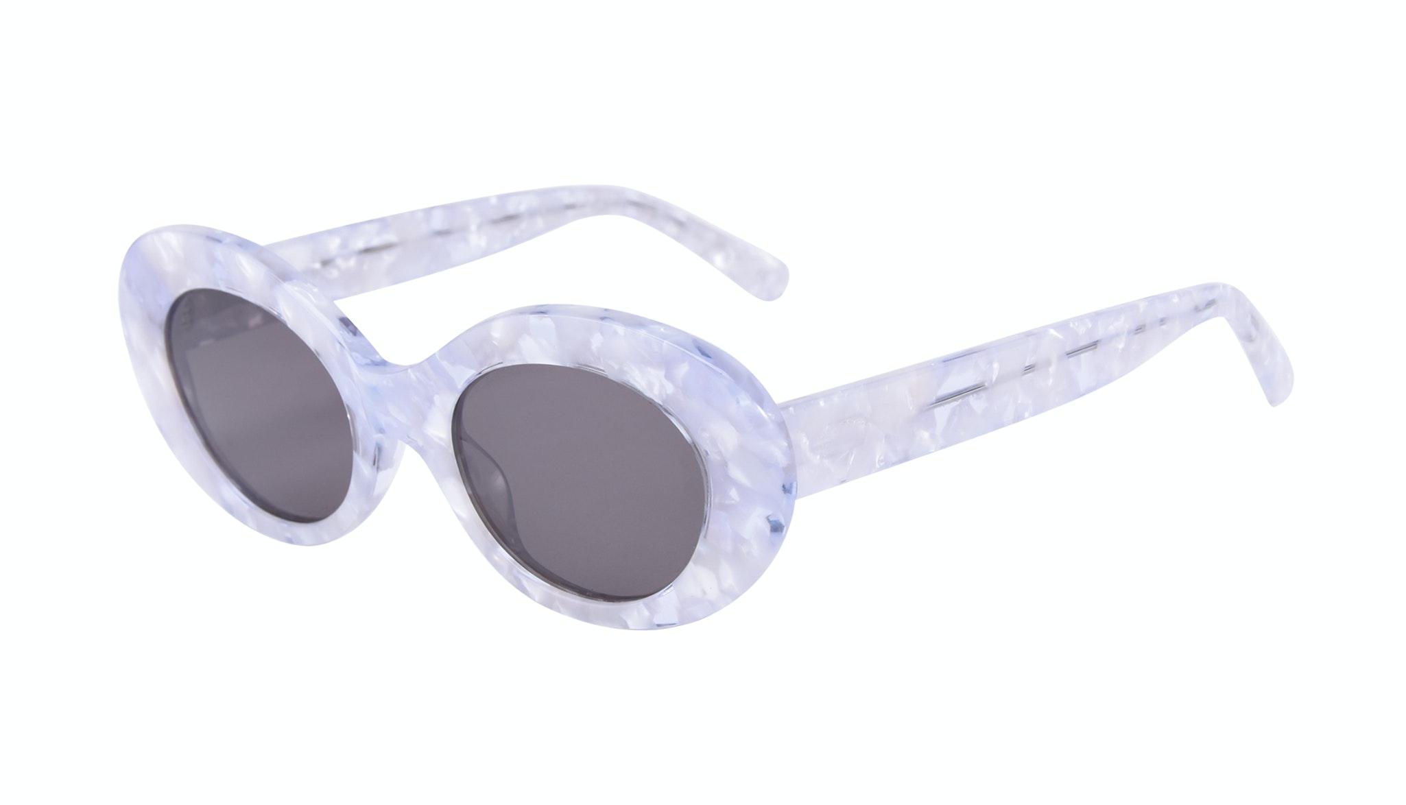 Affordable Fashion Glasses Round Sunglasses Women Galactic Moon Tilt