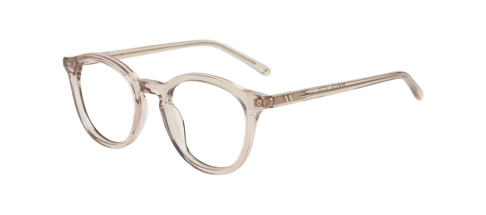 Affordable Fashion Glasses Round Eyeglasses Kids Gent Junior Sand Tilt
