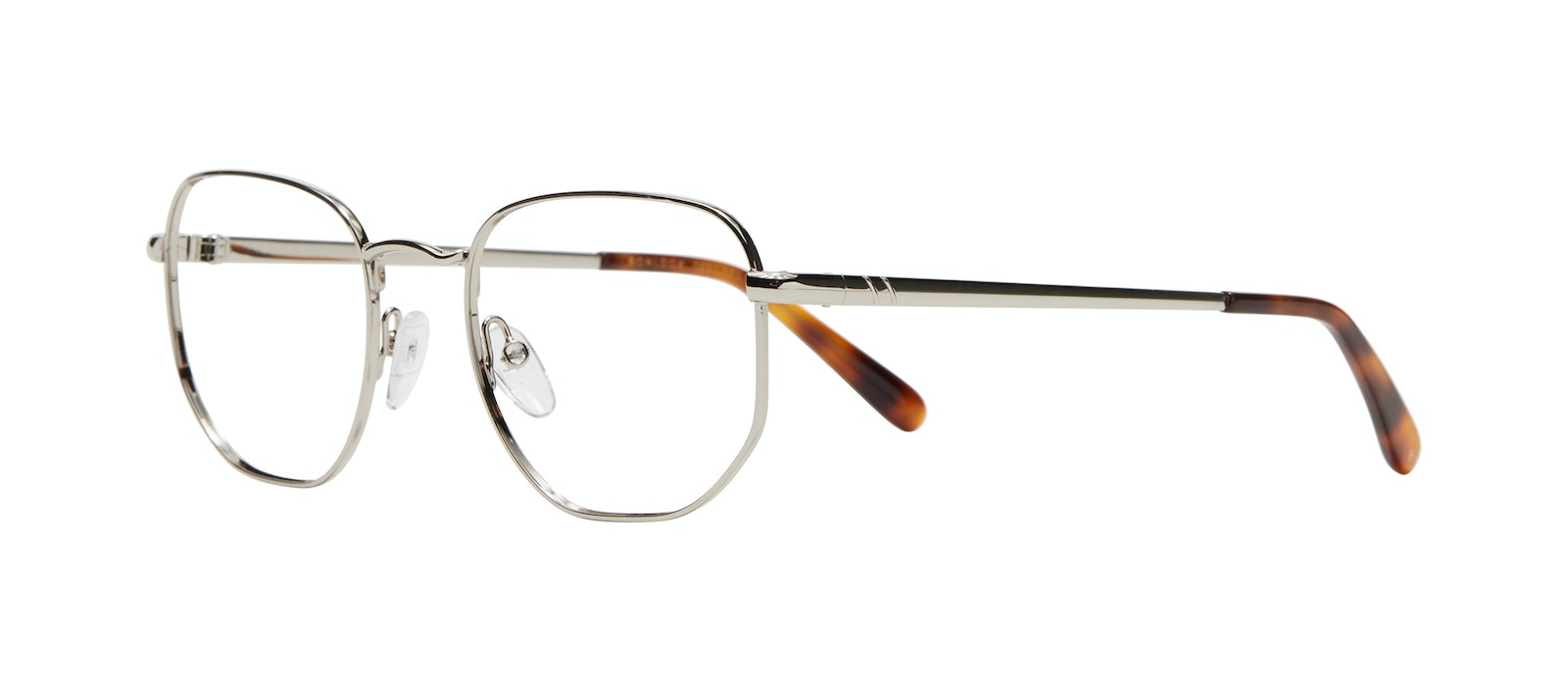 Affordable Fashion Glasses Square Eyeglasses Men Global L Silver Tilt