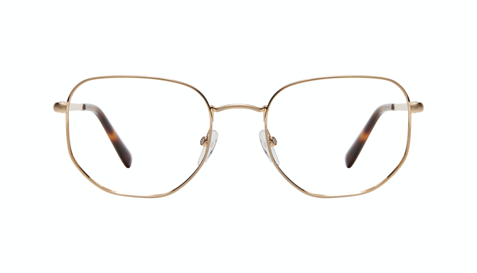 Affordable Fashion Glasses Square Eyeglasses Men Global M Matte Gold