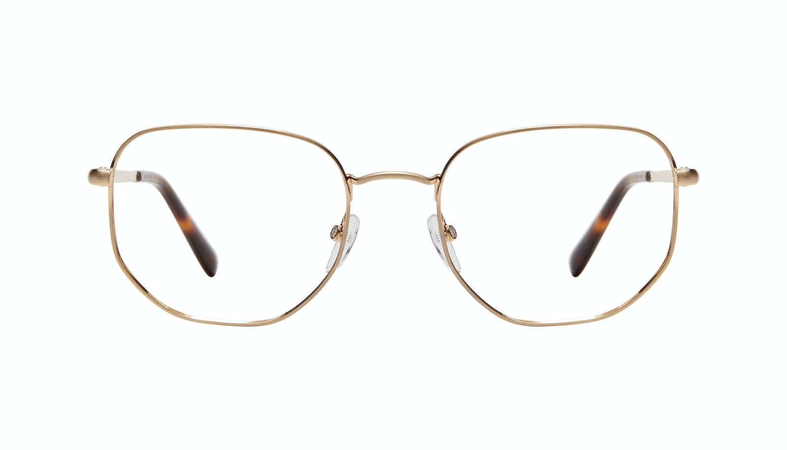 Affordable Fashion Glasses Square Eyeglasses Men Women Global M Matte Gold