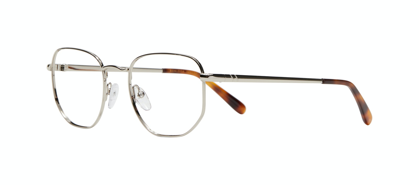 Affordable Fashion Glasses Square Eyeglasses Men Global M Silver Tilt