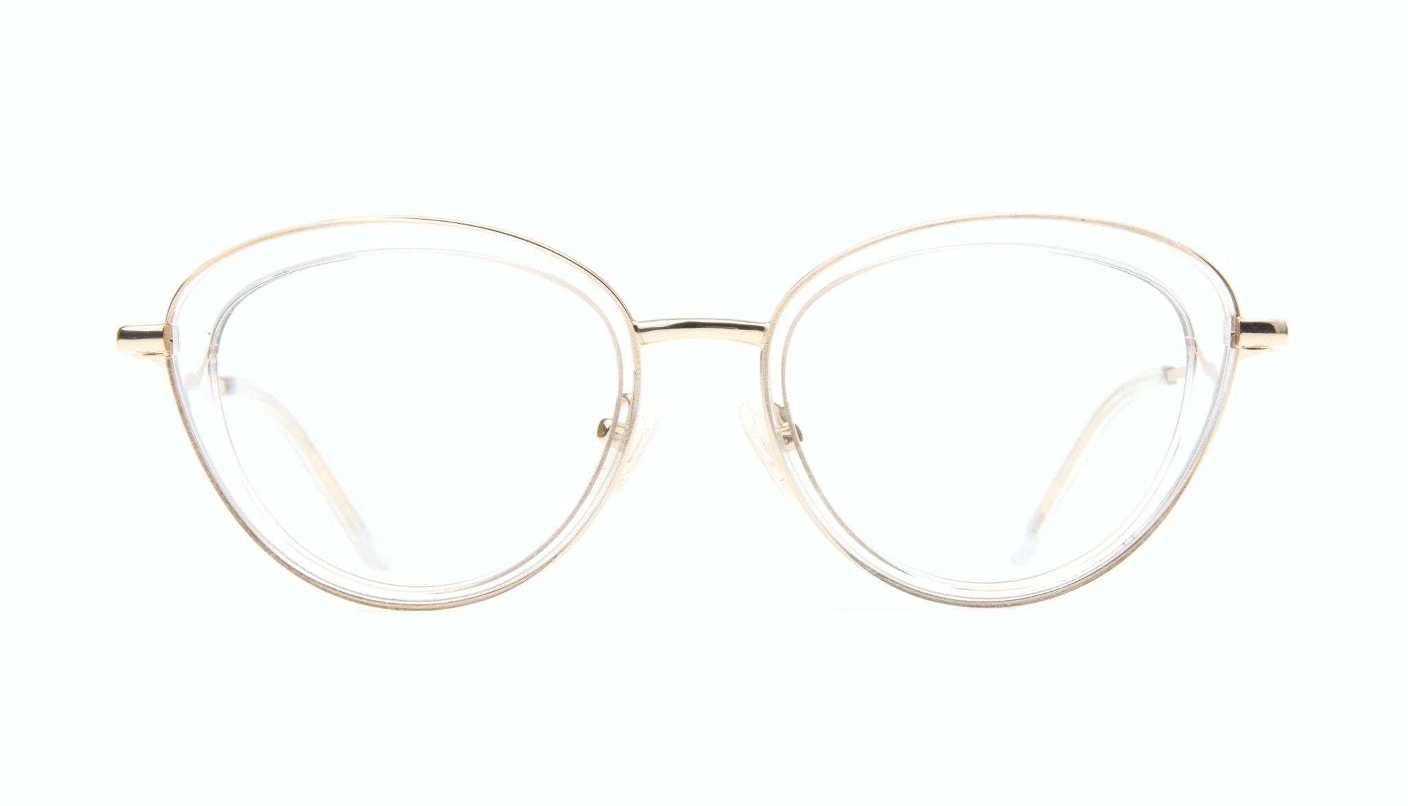 Affordable Fashion Glasses Cat Eye Eyeglasses Women Glory Gold Diamond Front
