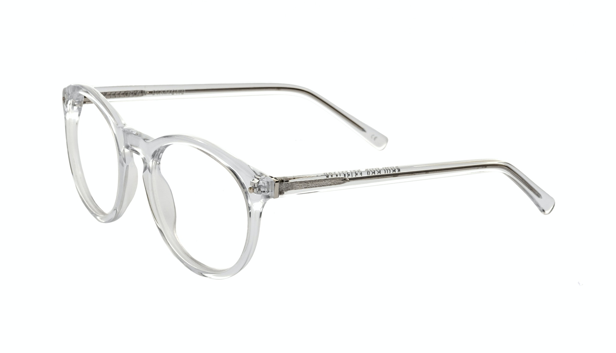 Affordable Fashion Glasses Round Eyeglasses Women Glow Diamond Tilt