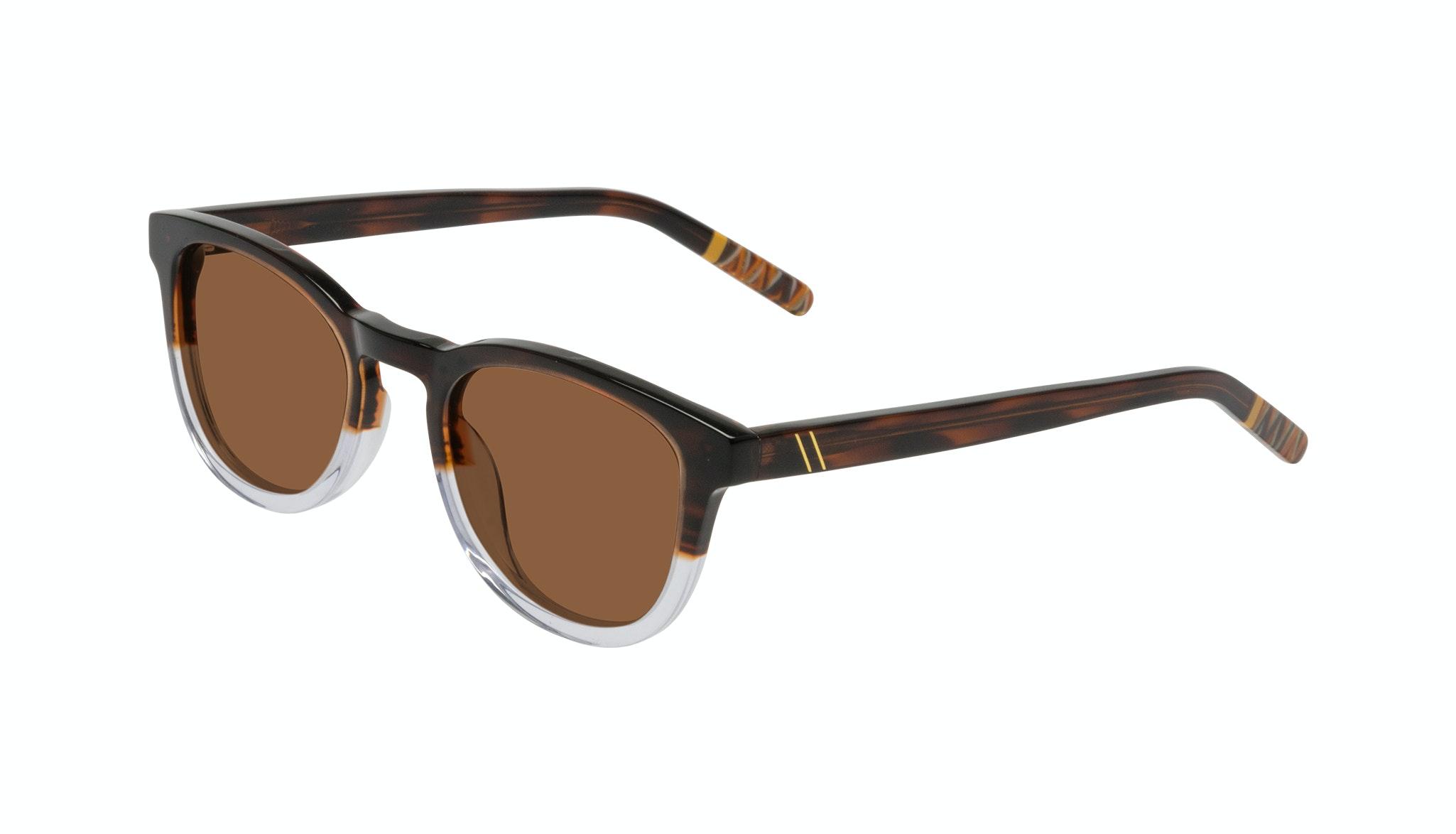 Affordable Fashion Glasses Round Sunglasses Men Goal Bark Tilt