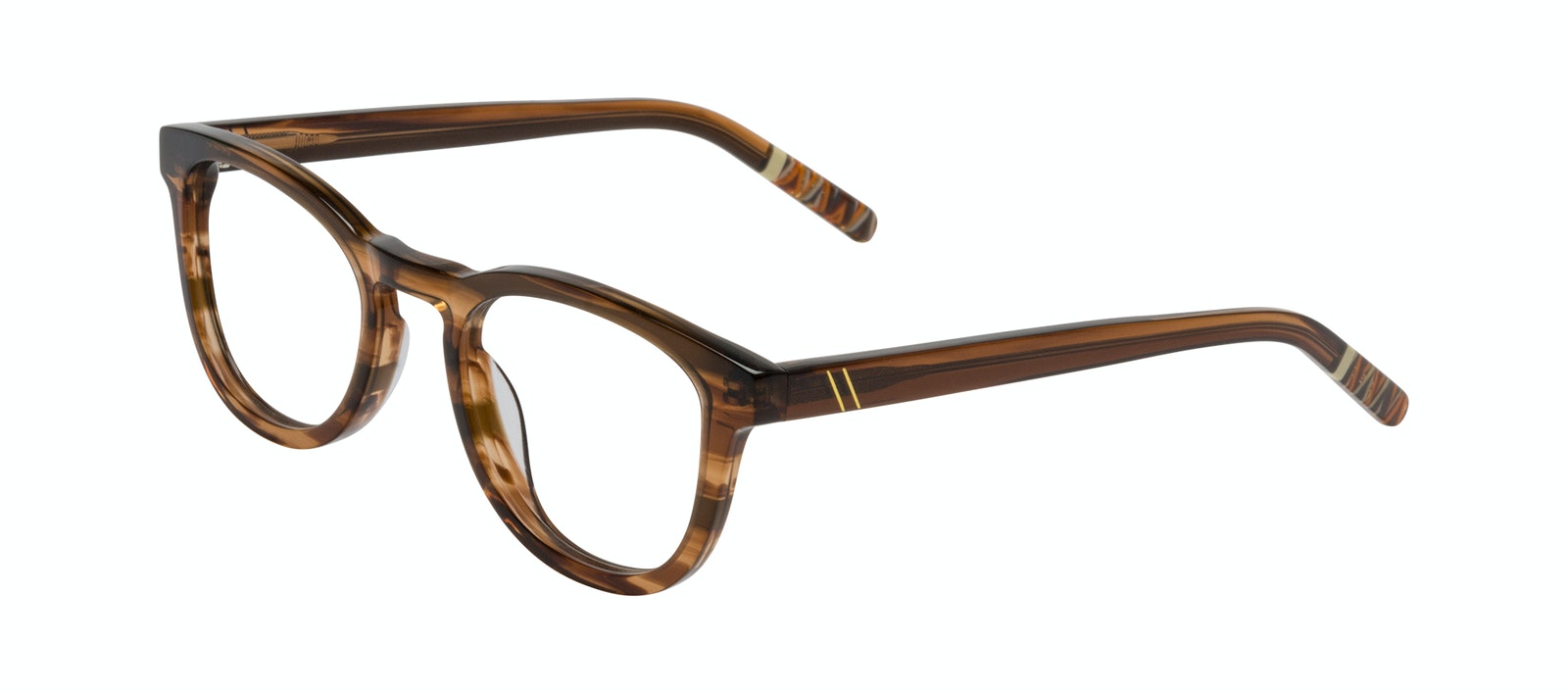 Affordable Fashion Glasses Round Eyeglasses Men Goal Smokey Havana Tilt