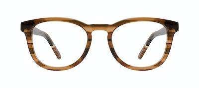 Affordable Fashion Glasses Round Eyeglasses Men Goal Smokey Havana Front