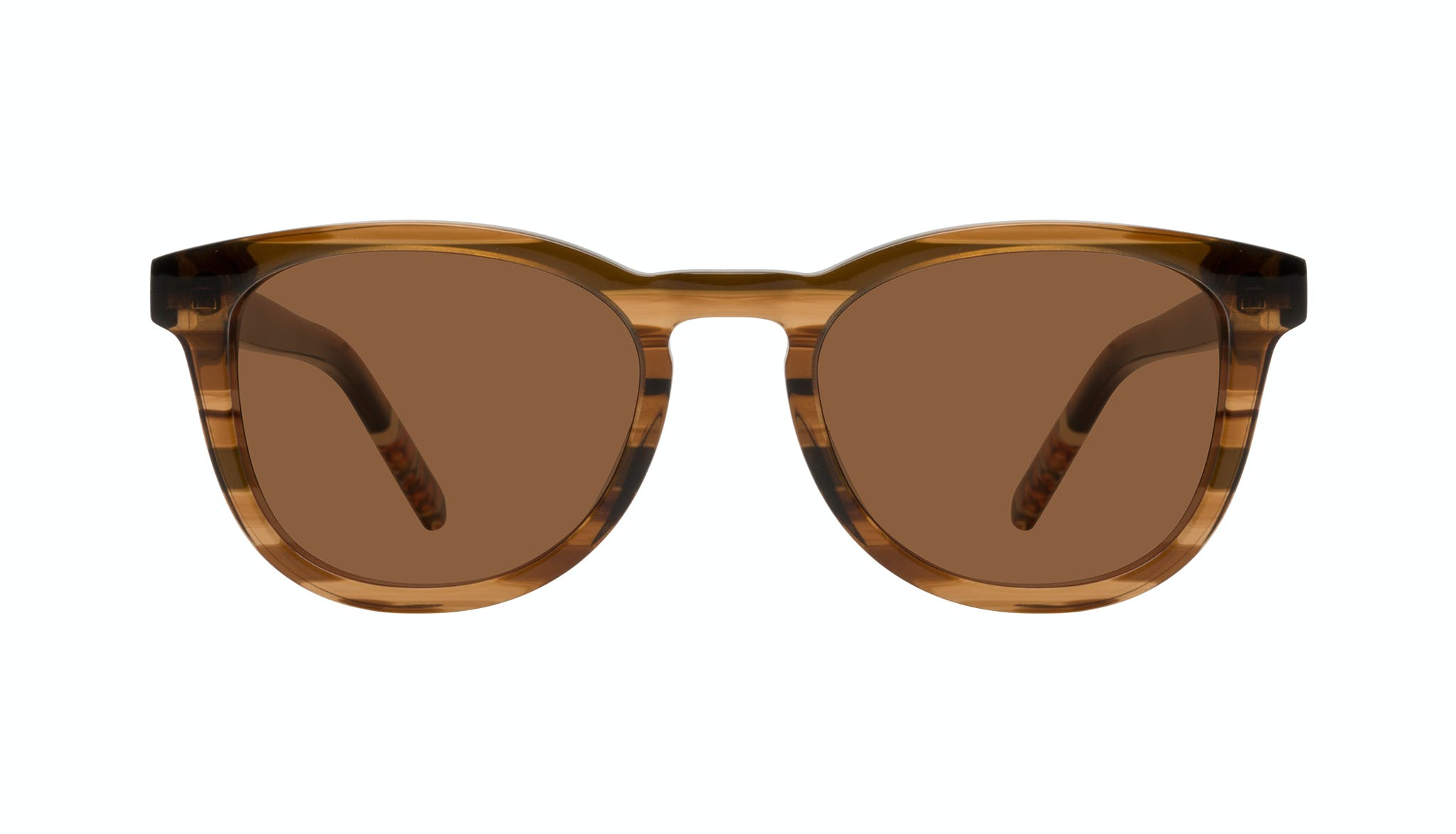 Affordable Fashion Glasses Round Sunglasses Men Goal Smokey Havana