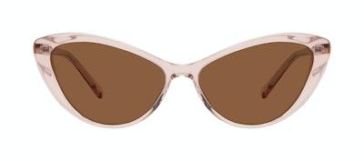 Affordable Fashion Glasses Cat Eye Sunglasses Women Gossamer Pink Front