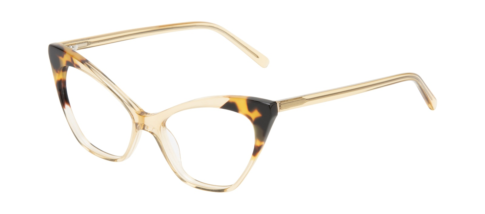 Affordable Fashion Glasses Cat Eye Eyeglasses Women Gossip Golden Tort Tilt