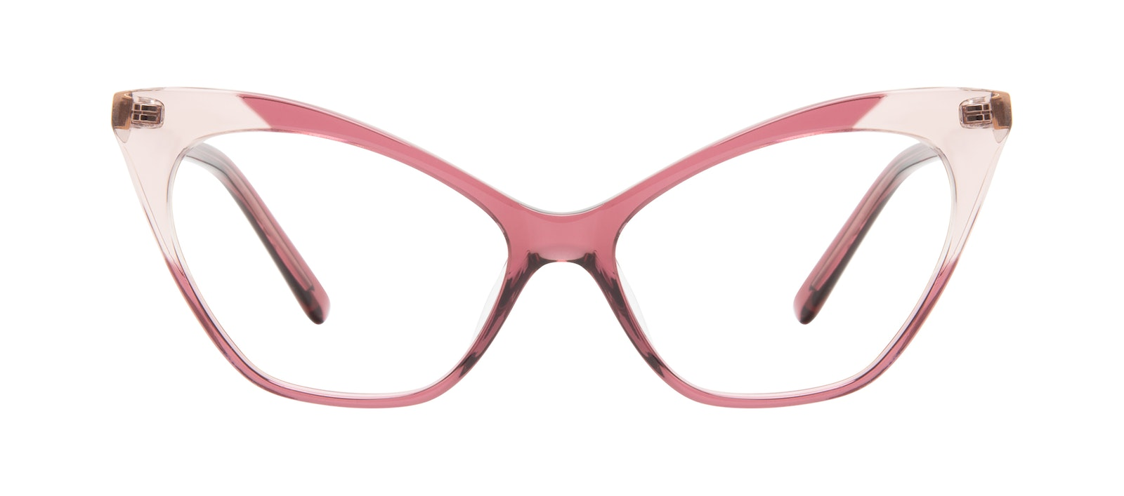 Affordable Fashion Glasses Cat Eye Eyeglasses Women Gossip Orchid Pink Front
