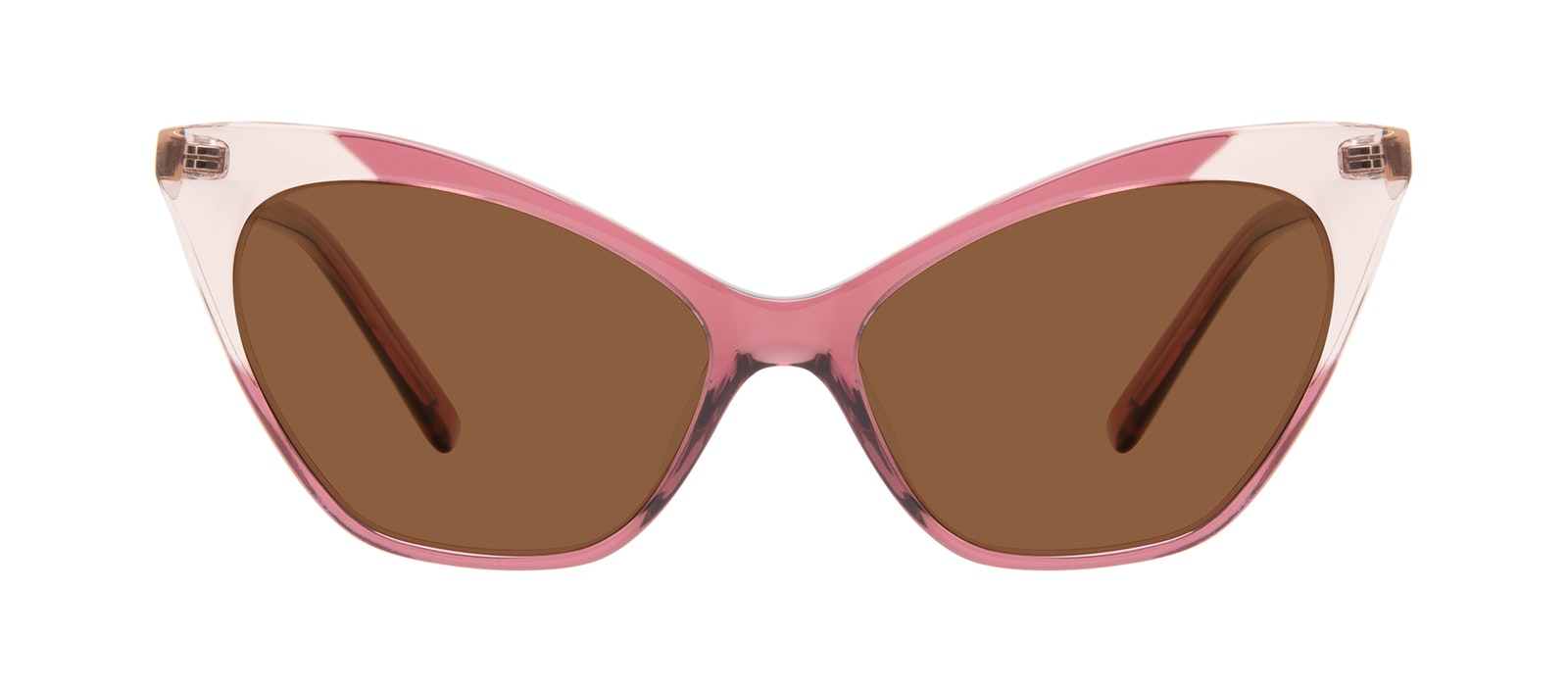 Affordable Fashion Glasses Cat Eye Sunglasses Women Gossip Orchid Pink Front