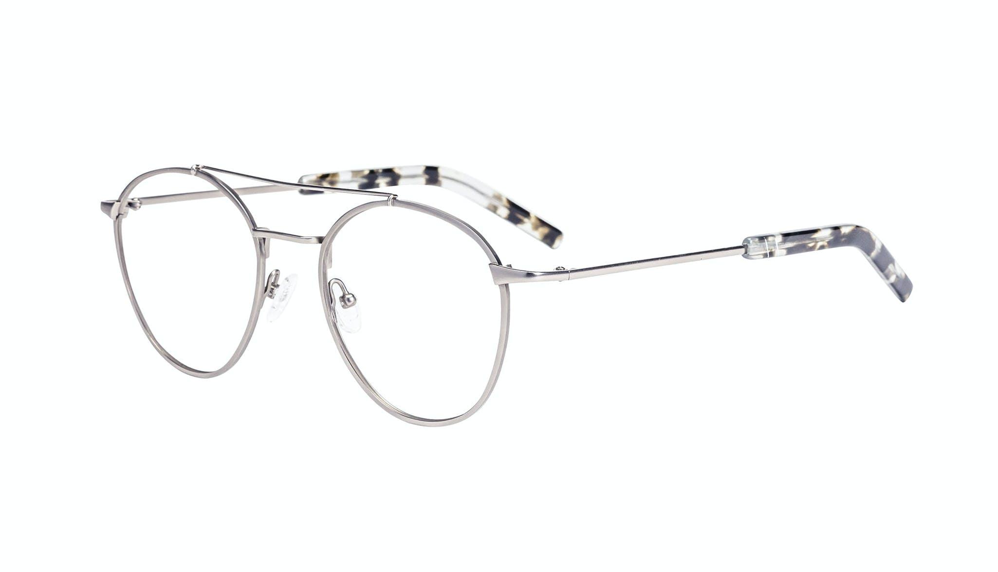 Affordable Fashion Glasses Aviator Eyeglasses Men Gravity Silver Tilt