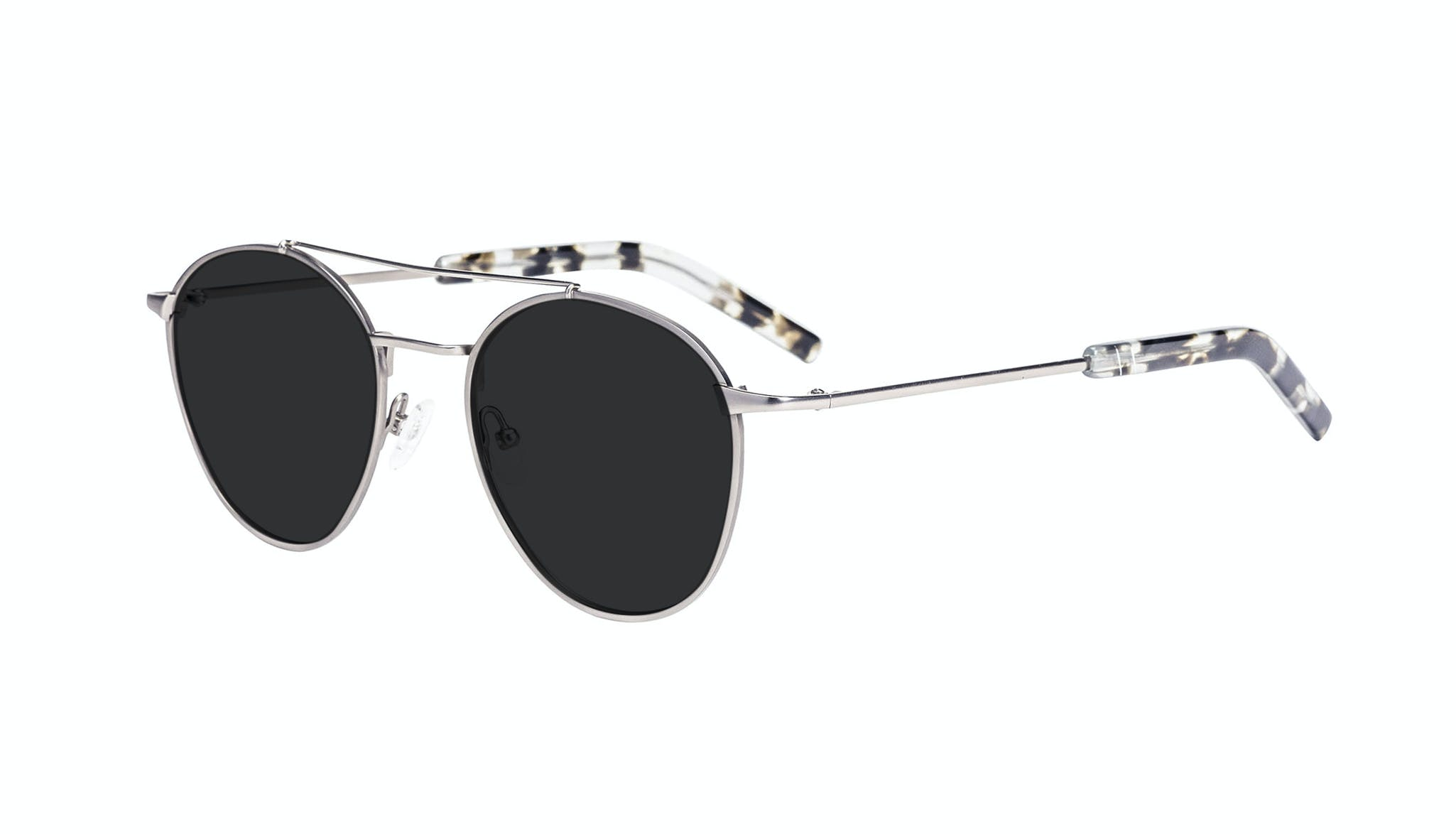 Affordable Fashion Glasses Aviator Sunglasses Men Gravity Silver Tilt