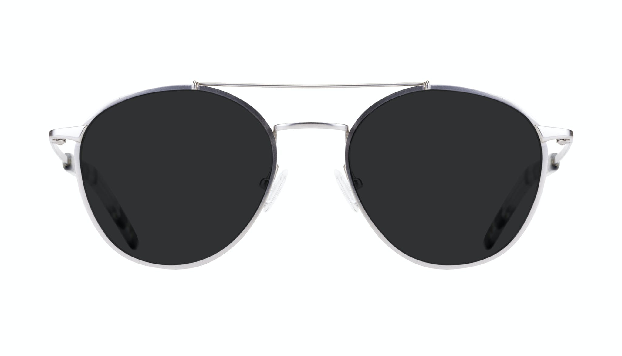 Affordable Fashion Glasses Aviator Sunglasses Men Gravity Silver Front