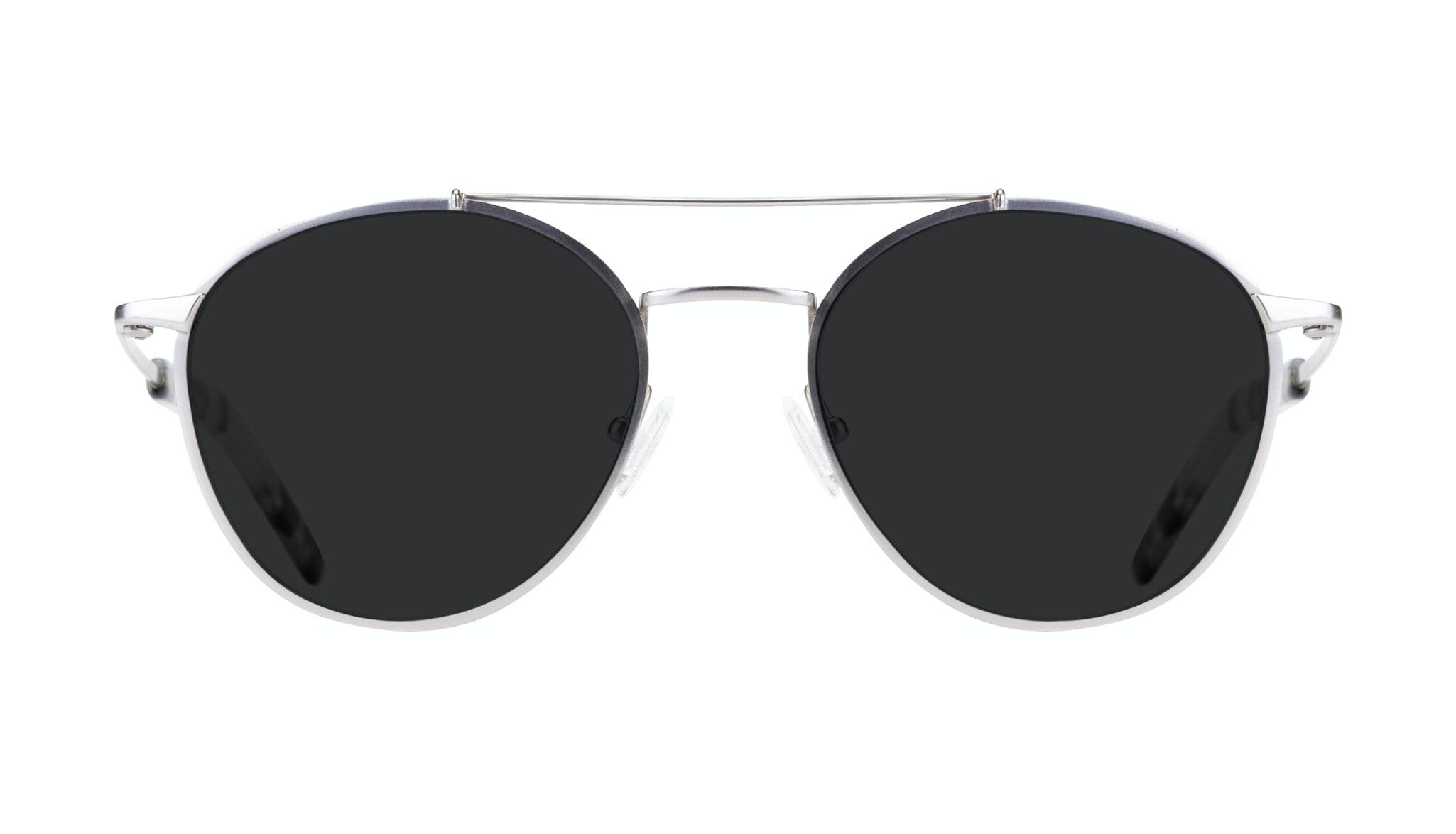 Affordable Fashion Glasses Aviator Sunglasses Men Gravity Silver Front