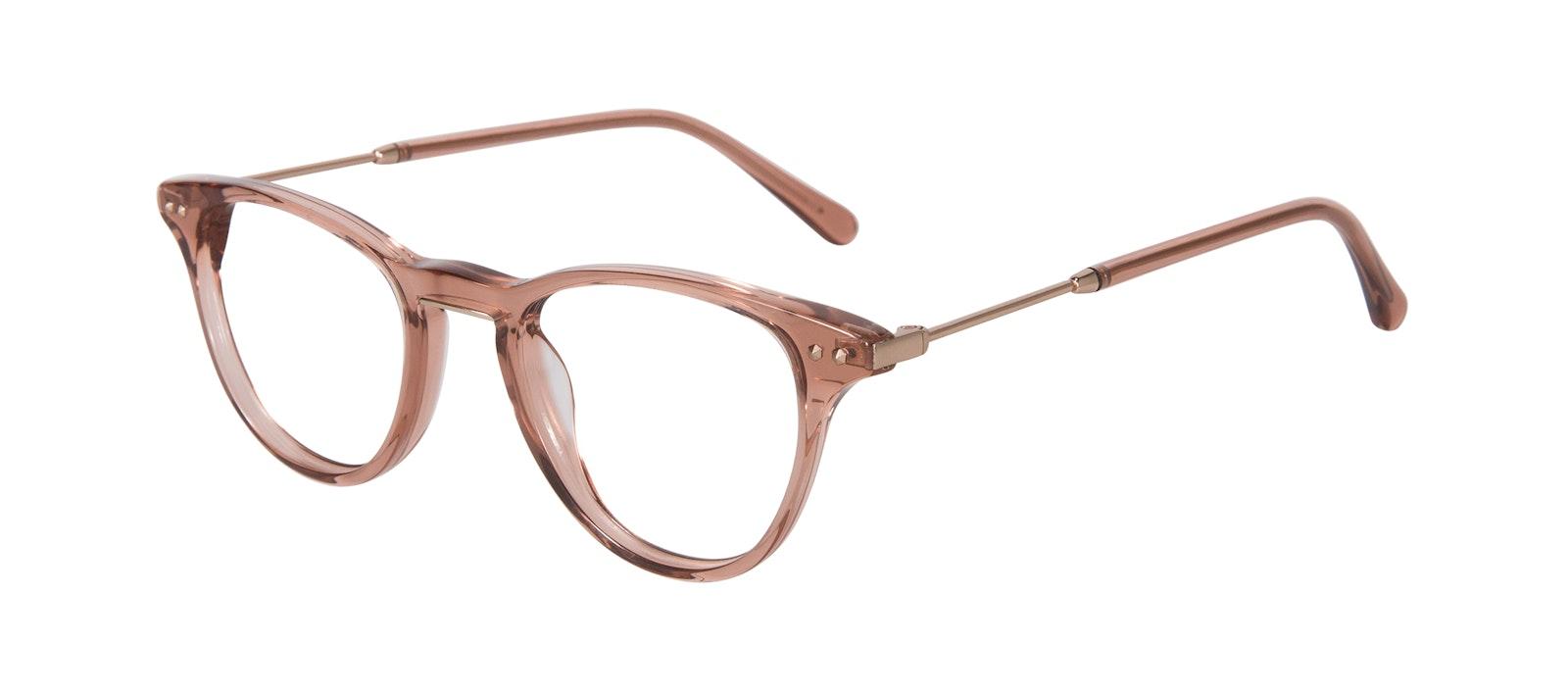 Affordable Fashion Glasses Cat Eye Eyeglasses Women Halo Rose Tilt