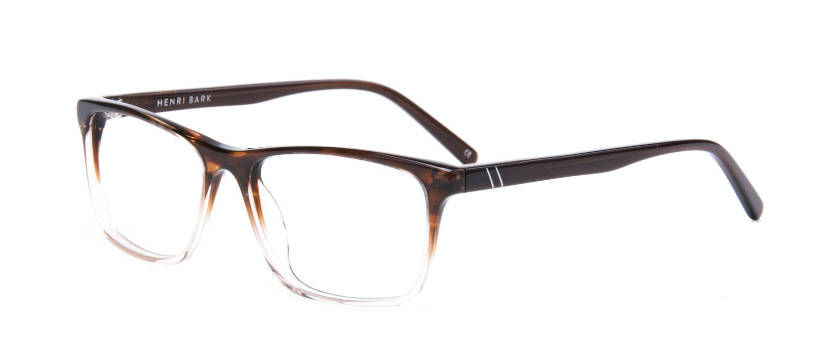 Affordable Fashion Glasses Rectangle Eyeglasses Men Henri Bark Tilt