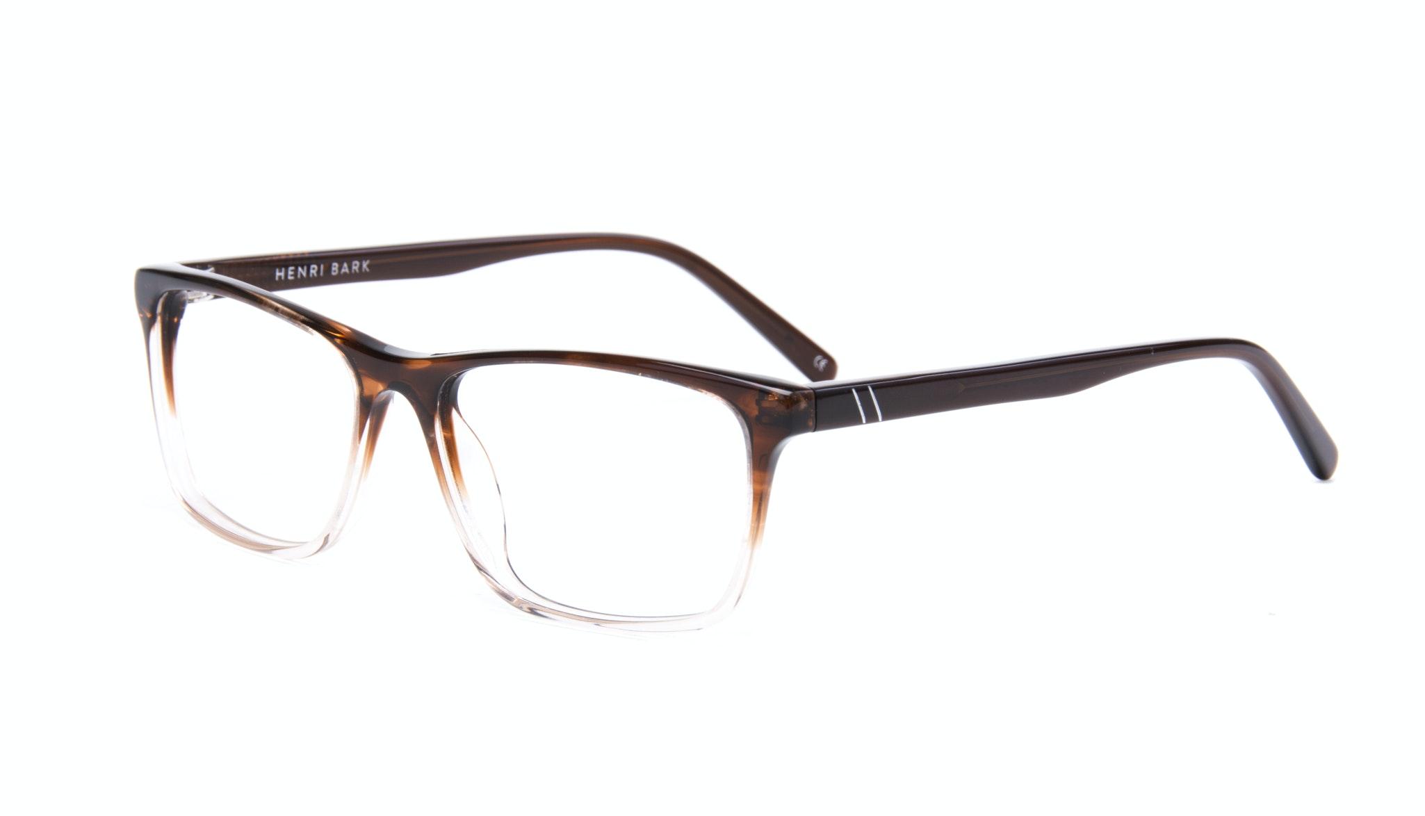 Affordable Fashion Glasses Rectangle Eyeglasses Men Henri Bark Tilt