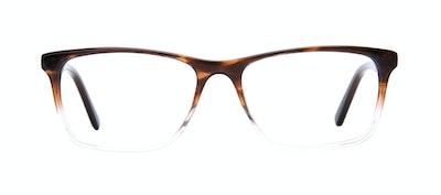 Affordable Fashion Glasses Rectangle Eyeglasses Men Henri Bark Front