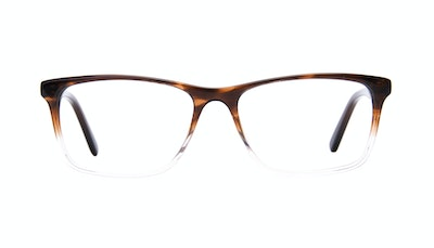 Affordable Fashion Glasses Rectangle Eyeglasses Men Henri Bark Front