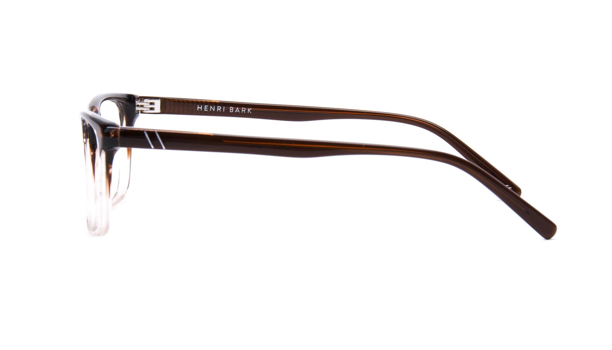 Affordable Fashion Glasses Rectangle Eyeglasses Men Henri Bark Side