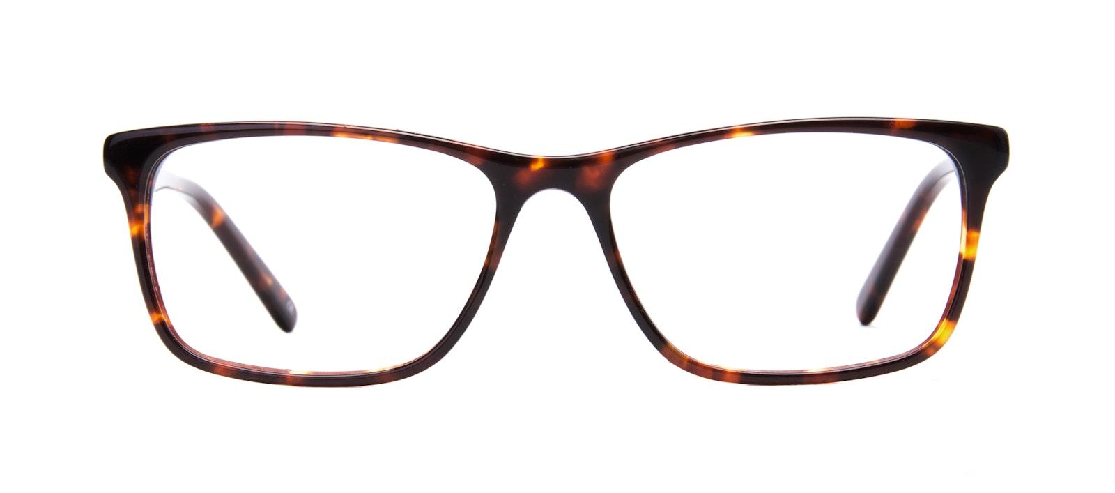 Affordable Fashion Glasses Rectangle Eyeglasses Men Henri Sepia Kiss Front