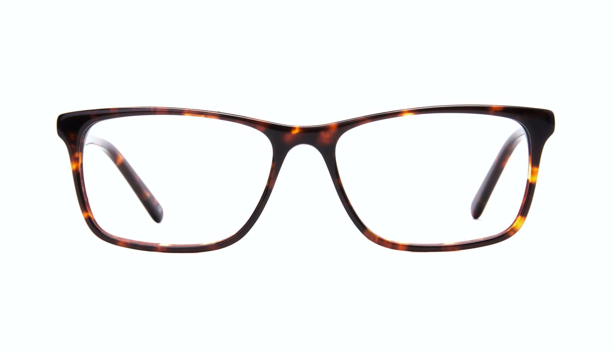 Affordable Fashion Glasses Rectangle Eyeglasses Men Henri Sepia Kiss Front