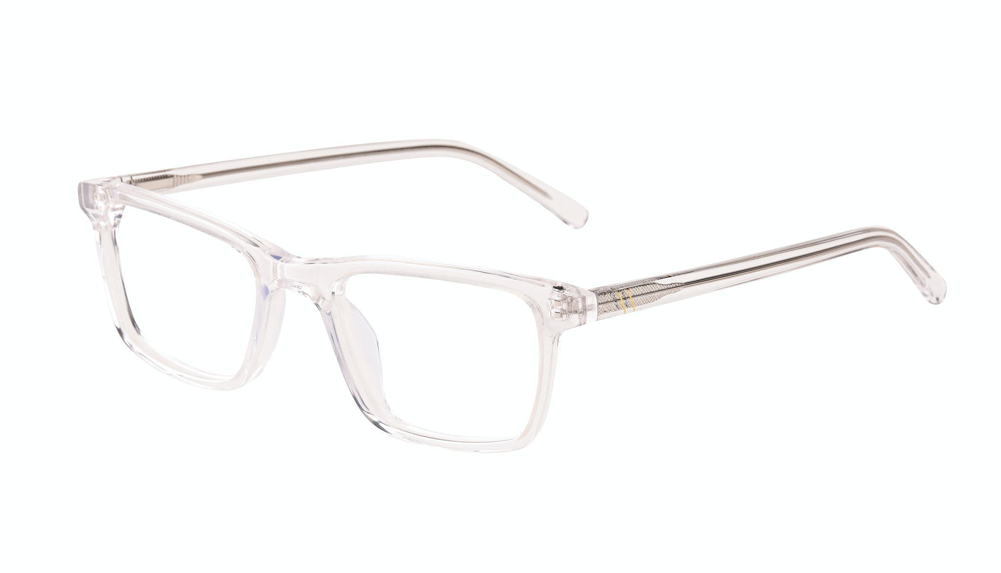 Affordable Fashion Glasses Rectangle Eyeglasses Men Henri SML Clear Tilt
