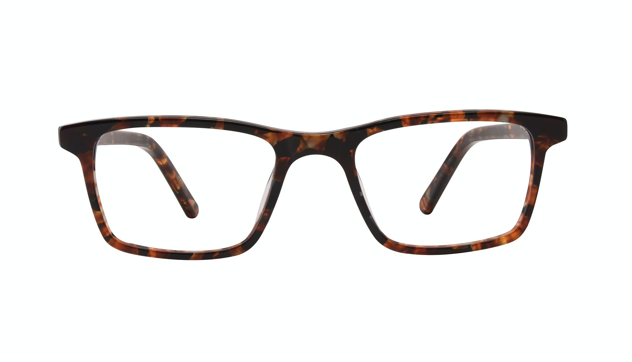 Affordable Fashion Glasses Rectangle Eyeglasses Men Henri SML Mohagany Front