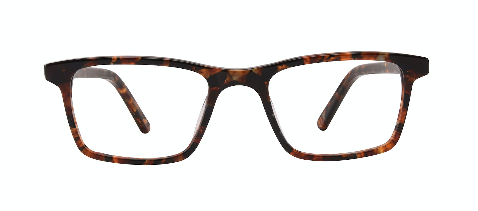 Affordable Fashion Glasses Rectangle Eyeglasses Men Henri SML Mohagany Front