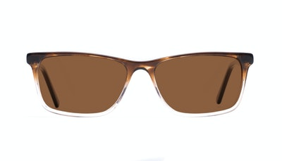 Affordable Fashion Glasses Rectangle Sunglasses Men Henri Bark Front