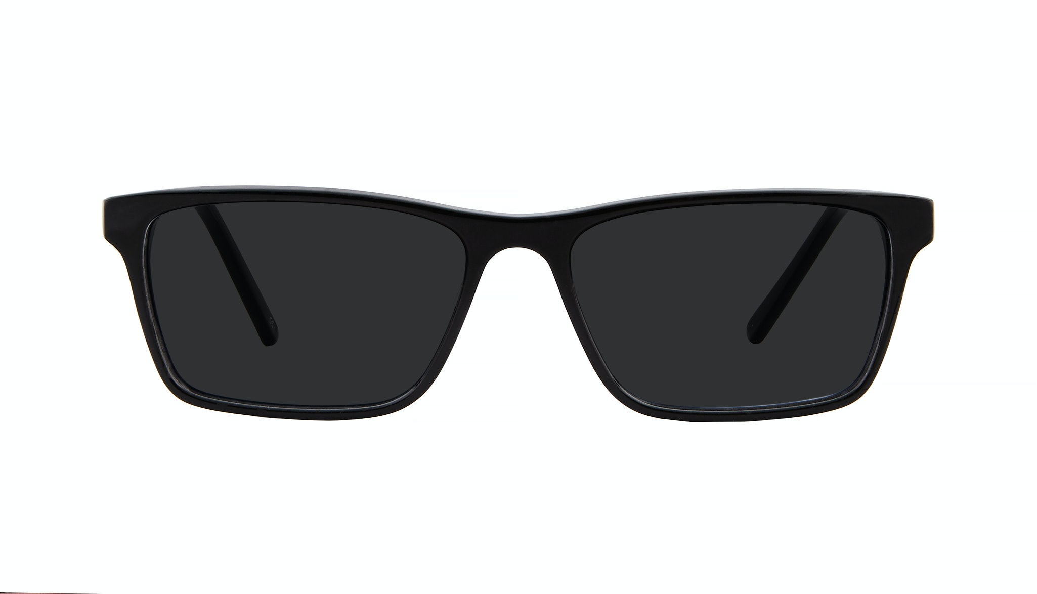 Affordable Fashion Glasses Rectangle Sunglasses Men Henri Black