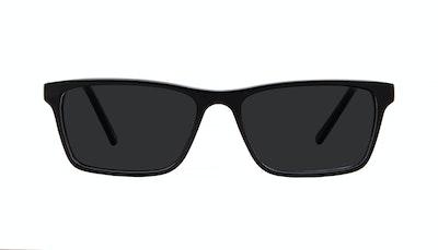 Lunettes tendance Rectangle Lunettes de soleil Hommes Henri Black Face