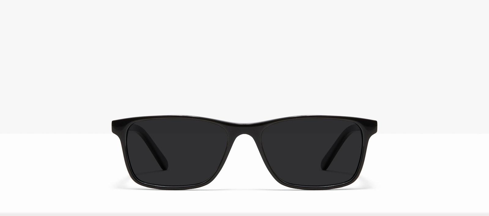 Affordable Fashion Glasses Rectangle Sunglasses Men Henri XL Black Front