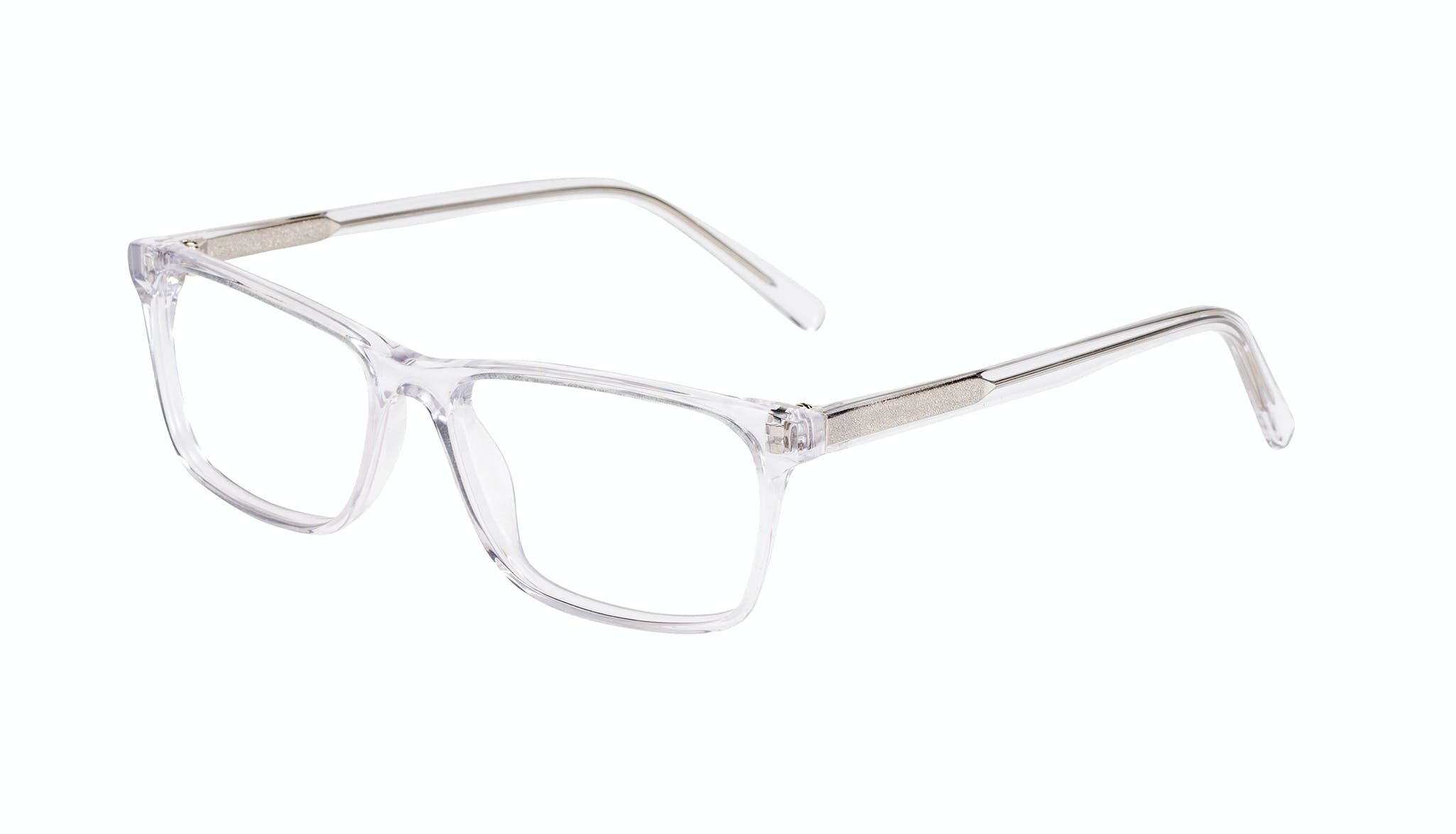 Affordable Fashion Glasses Rectangle Eyeglasses Men Henri Clear Tilt