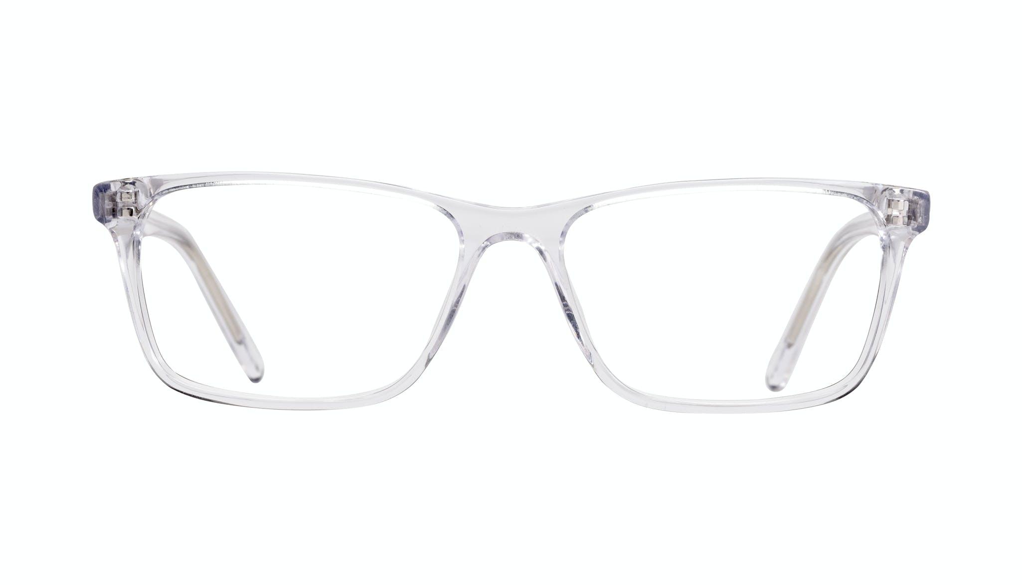 Lunettes tendance Rectangle Lunettes de vue Hommes Henri Clear Face