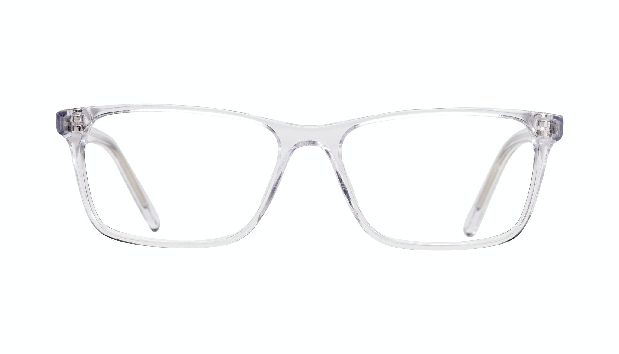 Affordable Fashion Glasses Rectangle Eyeglasses Men Henri Clear