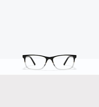 Affordable Fashion Glasses Rectangle Eyeglasses Men Henri Onyx Clear Front