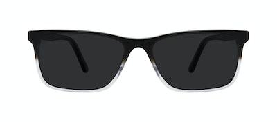 Lunettes tendance Rectangle Lunettes de soleil Hommes Henri Onyx Clear Face